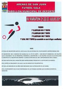 XIV MARATHÓN DE FÚTBOL SALA MASCULINO