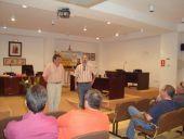 Eugenio Elipe Presidente de Alto Guadiana Mancha y Agustín Alonso, gerente de la Asociación