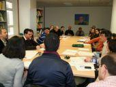Técnicos asistentes a la reunión entre los grupos pertenecientes a Cedercam y la UCLM