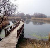 Los efectos del trasvase y los aportes naturales a través del Cigüela se están notando ya en el parque. En la imagen, la zona central del parque nacional esta mañana / J.Jurado