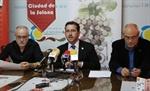 El alcalde presentó el festival junto al concejal de Cultura y el director              Foto: La Solana Digital