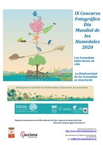 Villarrubia de los Ojos convoca un concurso fotográfico con motivo del Día de los Humedales.