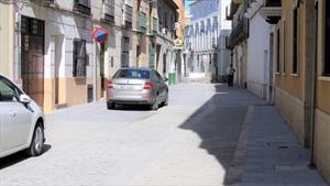 Una de las calles reformadas